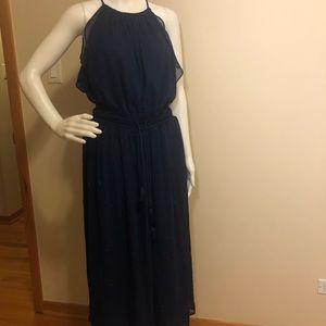 MICHAEL Michael Kors Blue Dress Size M MSRP $98.00